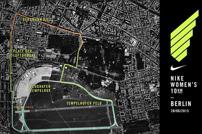 Laufstrecke_Nike_Women's 10km Berlin