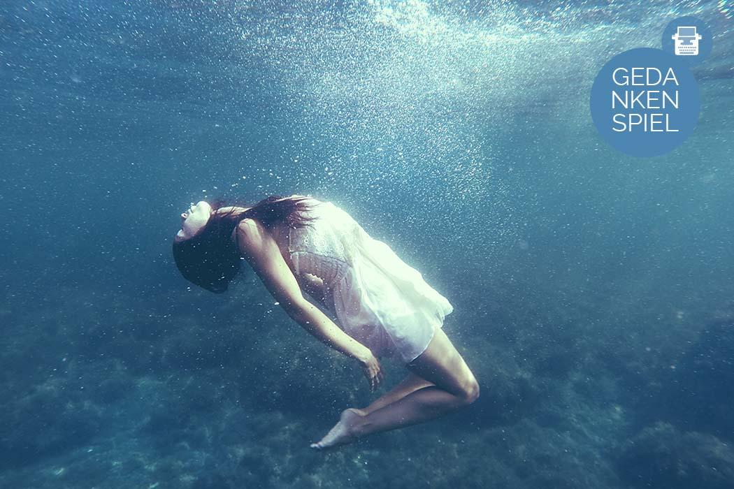 Unter Wasser atmen - im gegenteil
