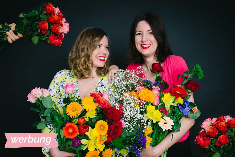 Blumen werbung valentinstag