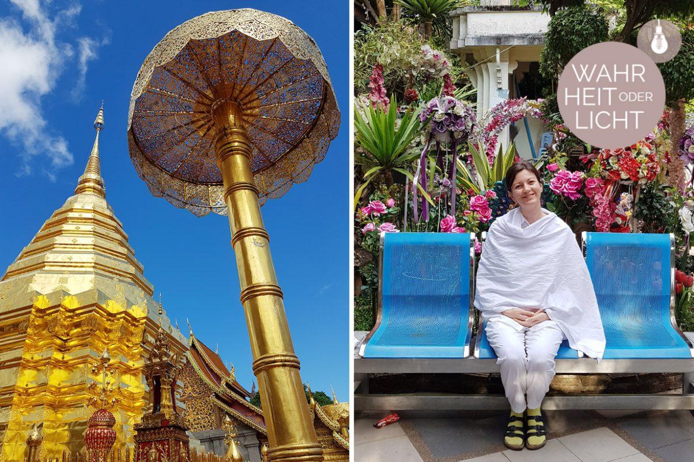Im buddhistischen Schweigekloster