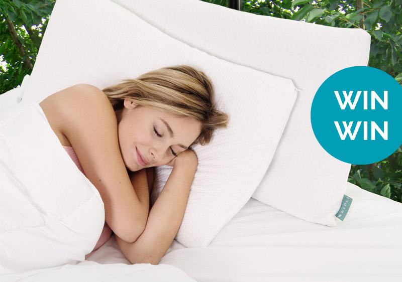 Auf den Kipli Naturlatex-Matratzen und Kissen schläft man wie auf Wolken.