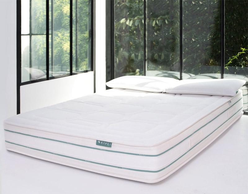 Die Kipli Naturlatex-Matratzen sind schlicht und modern.